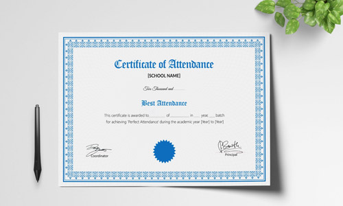 Certificate Printing Company In Chennai